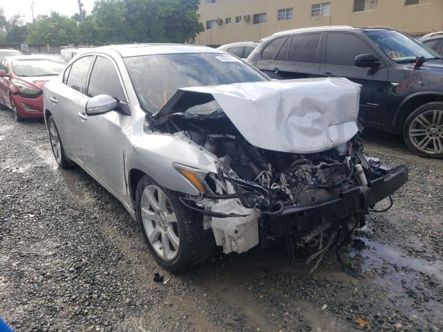 Salvage cars for sale from Copart Opa Locka, FL: 2014 Nissan Maxima S