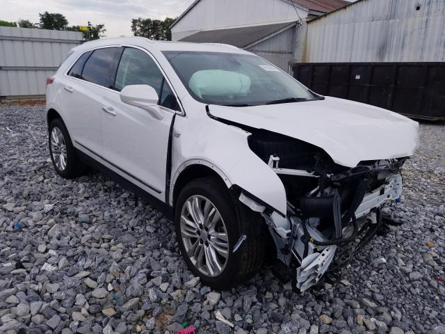 Salvage cars for sale from Copart Cartersville, GA: 2019 Cadillac XT5 Luxury