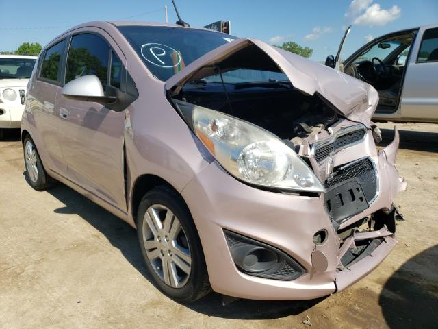 Salvage cars for sale from Copart Wichita, KS: 2013 Chevrolet Spark LS