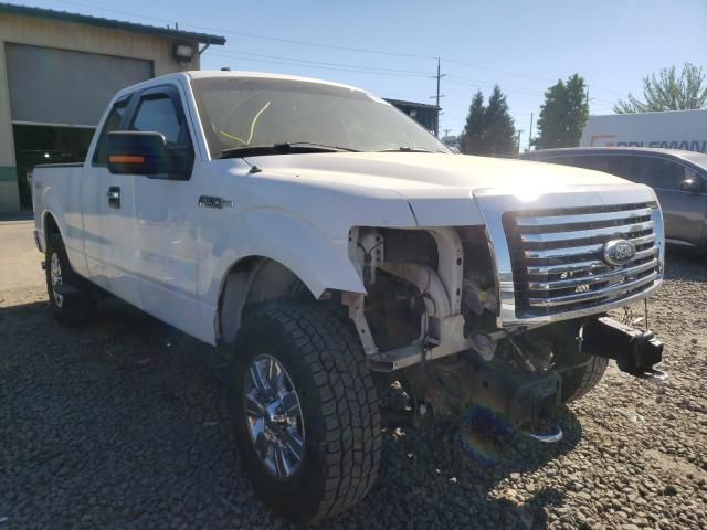 Salvage cars for sale from Copart Eugene, OR: 2012 Ford F150 Super