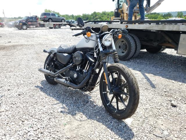 Salvage cars for sale from Copart Hueytown, AL: 2020 Harley-Davidson XL883 N
