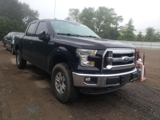 Salvage cars for sale from Copart Finksburg, MD: 2016 Ford F150 Super