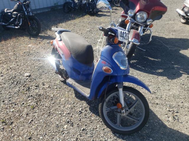 Salvage motorcycles for sale at Arlington, WA auction: 2004 Kymco Usa Inc People 150