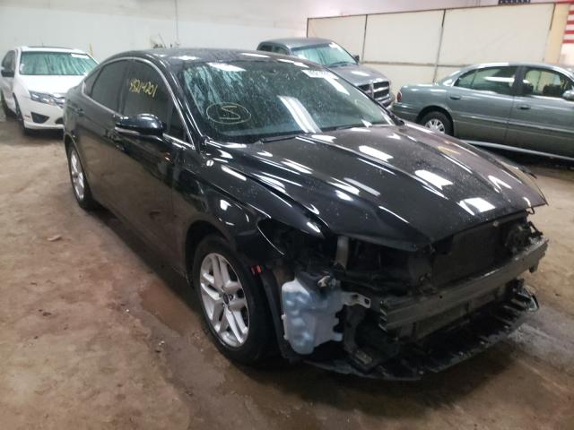Salvage cars for sale from Copart Davison, MI: 2013 Ford Fusion SE