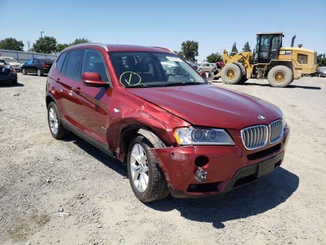 2012 BMW X3 XDRIVE3 5UXWX7C52CL736204