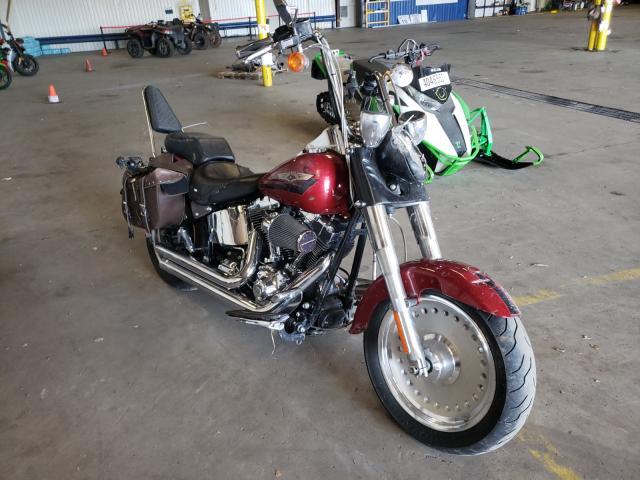 Salvage cars for sale from Copart Denver, CO: 2007 Harley-Davidson Flstf