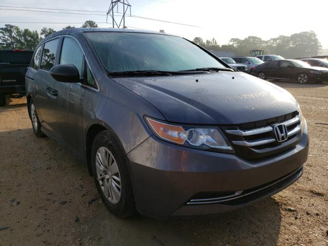 Salvage cars for sale from Copart Greenwell Springs, LA: 2016 Honda Odyssey LX