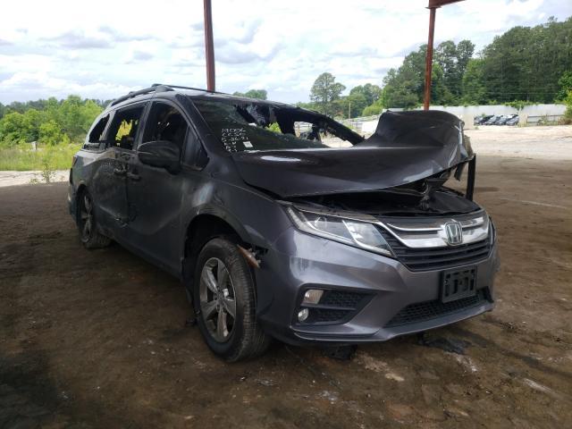 Vehiculos salvage en venta de Copart Fairburn, GA: 2018 Honda Odyssey EX