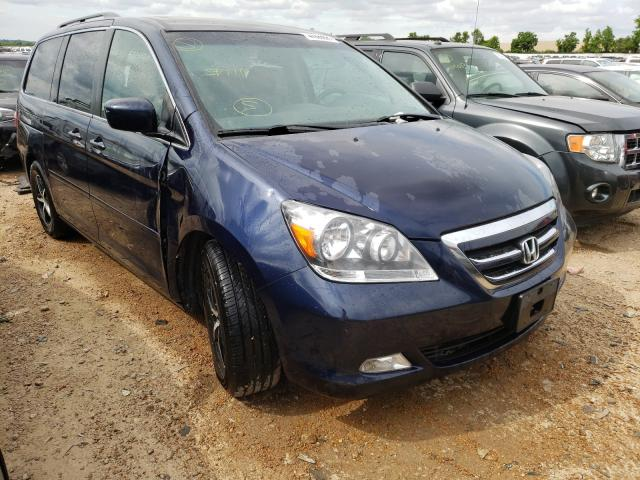 Salvage cars for sale from Copart Bridgeton, MO: 2007 Honda Odyssey TO