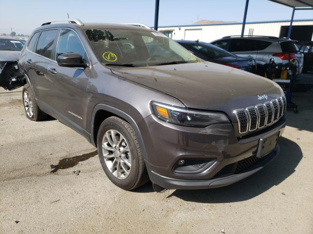 Salvage cars for sale from Copart Colton, CA: 2020 Jeep Cherokee L