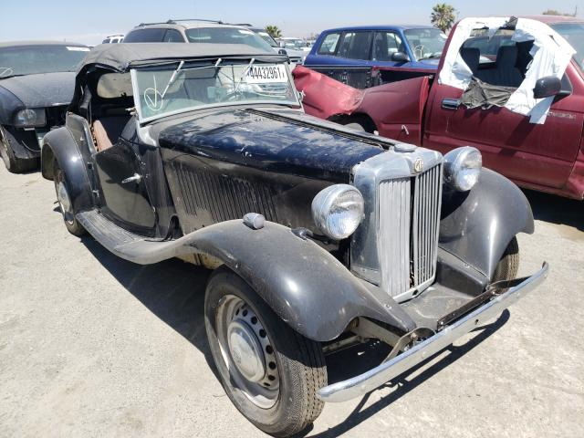 MG salvage cars for sale: 1953 MG TD