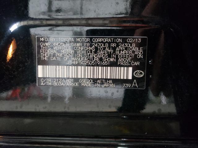 JTHBF5C25D5191651