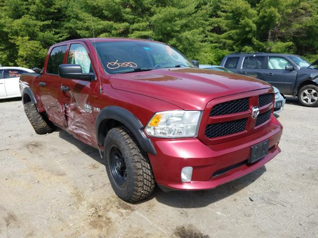 Salvage cars for sale from Copart Lyman, ME: 2014 Dodge RAM 1500 ST