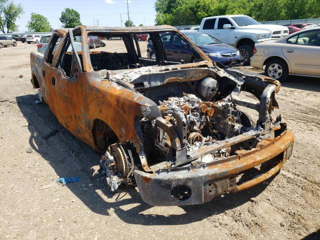 Salvage trucks for sale at Pekin, IL auction: 2012 Ford F150 Super