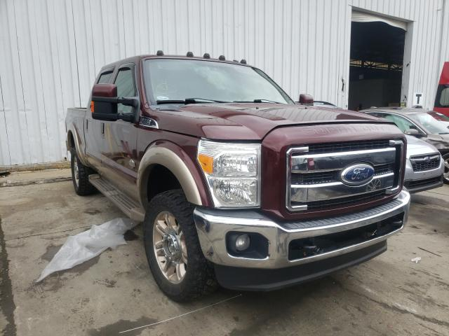 Salvage cars for sale at Windsor, NJ auction: 2011 Ford F350 Super