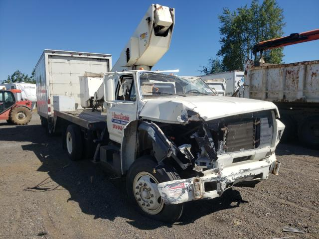 Salvage 1987 FORD F700 - Small image. Lot 44090221