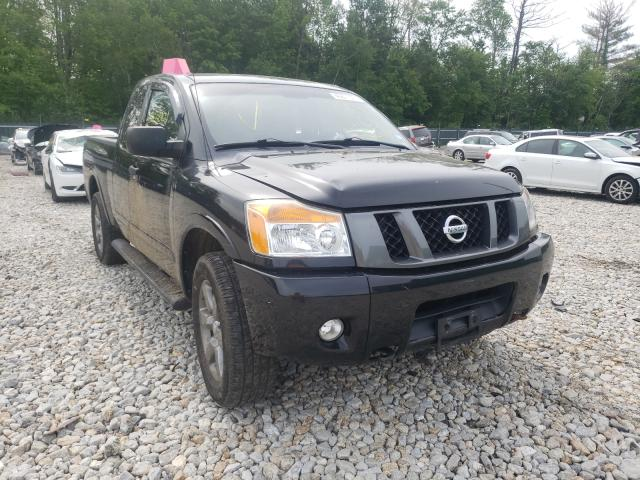 Salvage cars for sale from Copart Candia, NH: 2012 Nissan Titan S