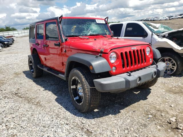 Salvage cars for sale from Copart Earlington, KY: 2016 Jeep Wrangler U