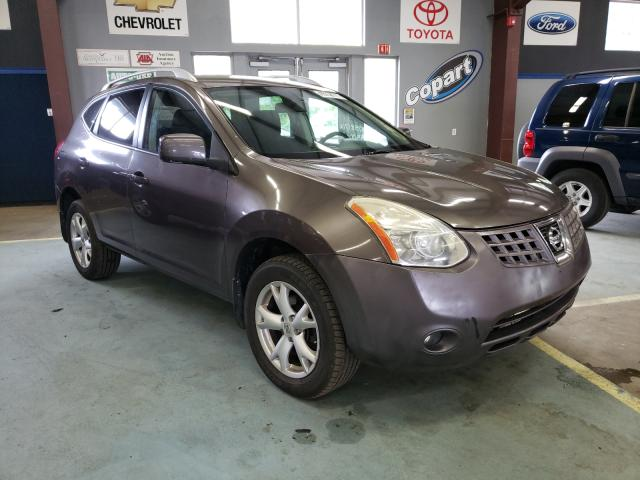 Salvage cars for sale from Copart East Granby, CT: 2009 Nissan Rogue S