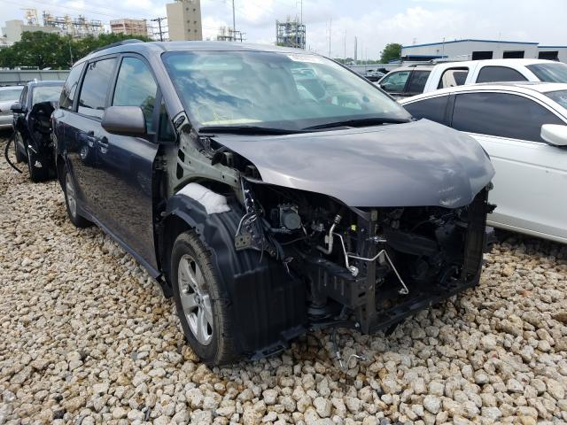 Salvage cars for sale from Copart New Orleans, LA: 2019 Toyota Sienna LE