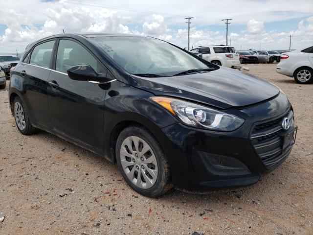 Salvage cars for sale from Copart Andrews, TX: 2017 Hyundai Elantra GT