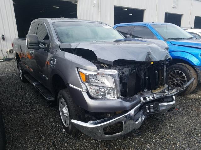 Salvage cars for sale from Copart Jacksonville, FL: 2017 Nissan Titan XD S