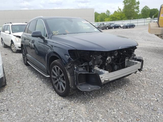 Salvage cars for sale from Copart Leroy, NY: 2017 Audi Q7 Premium