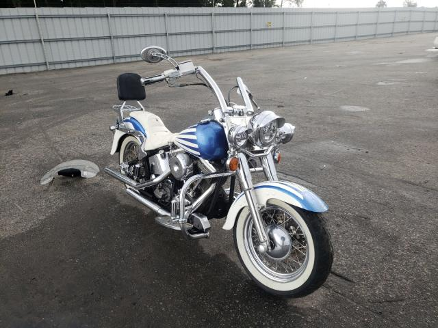 Salvage cars for sale from Copart Dunn, NC: 1986 Harley-Davidson Flst