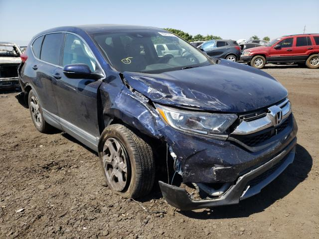 Salvage cars for sale from Copart Bakersfield, CA: 2017 Honda CR-V EX