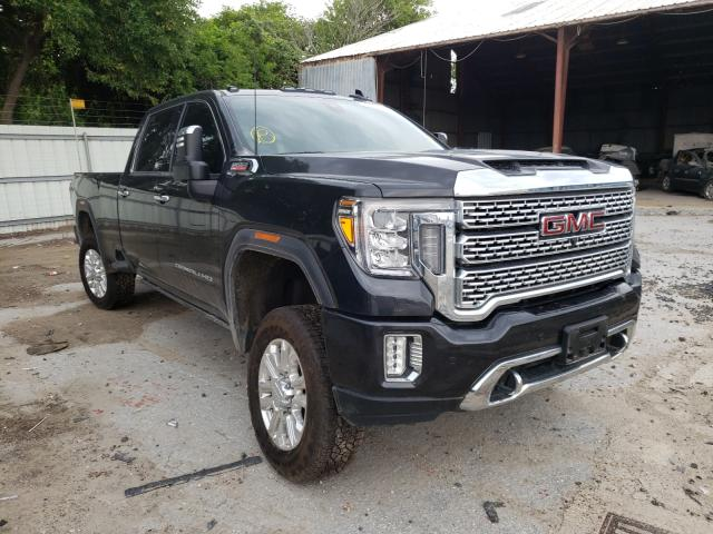 Salvage cars for sale from Copart Corpus Christi, TX: 2020 GMC Sierra K35
