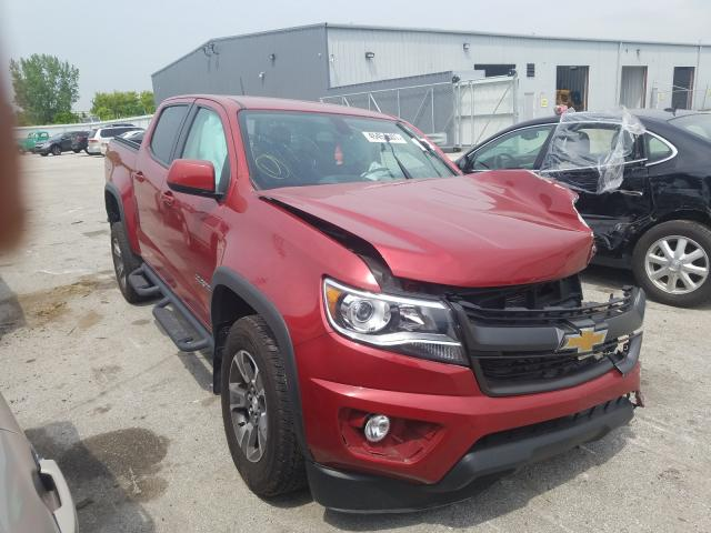 Salvage cars for sale from Copart Dyer, IN: 2016 Chevrolet Colorado Z