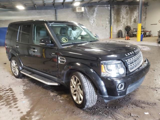Salvage cars for sale from Copart Chalfont, PA: 2016 Land Rover LR4 HSE