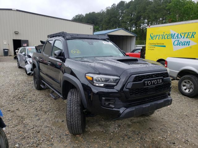 Salvage cars for sale from Copart Seaford, DE: 2020 Toyota Tacoma DOU