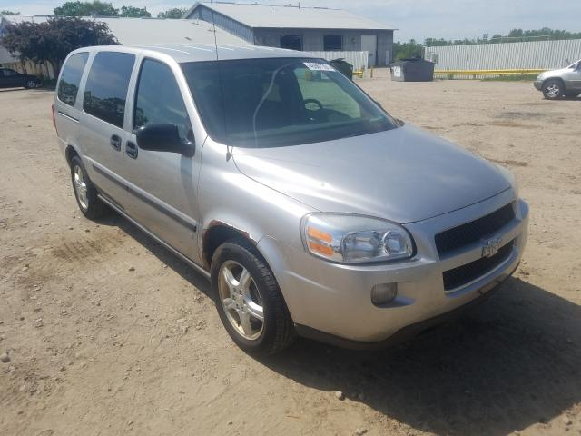Salvage cars for sale from Copart Madison, WI: 2008 Chevrolet Uplander L