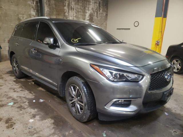 Salvage cars for sale from Copart Chalfont, PA: 2016 Infiniti QX60