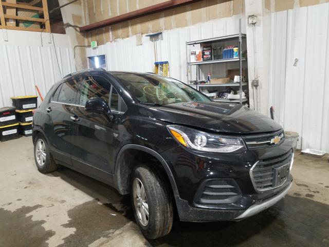 Salvage cars for sale from Copart Anchorage, AK: 2019 Chevrolet Trax 1LT