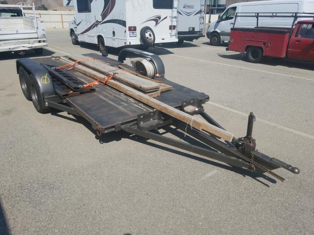 Salvage cars for sale from Copart Van Nuys, CA: 2000 Special Construction Trailer