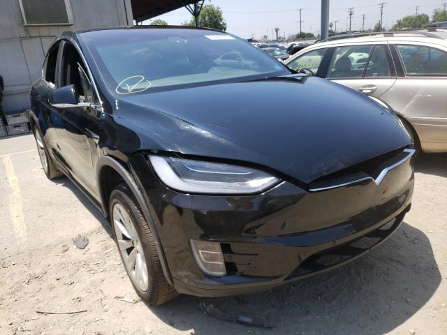 Vehiculos salvage en venta de Copart Los Angeles, CA: 2018 Tesla Model X