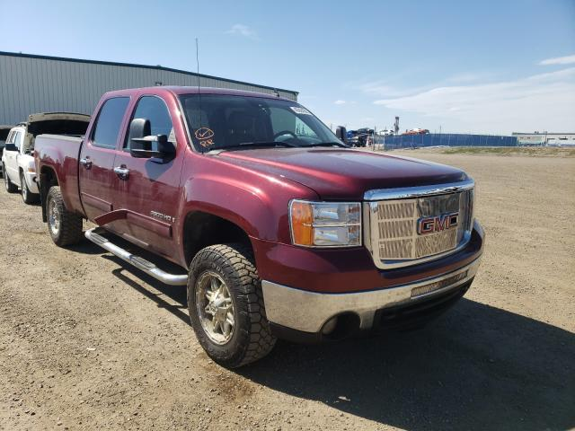 Salvage cars for sale from Copart Rocky View County, AB: 2008 GMC Sierra K25