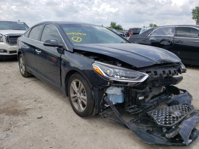 Salvage cars for sale from Copart Kansas City, KS: 2019 Hyundai Sonata LIM