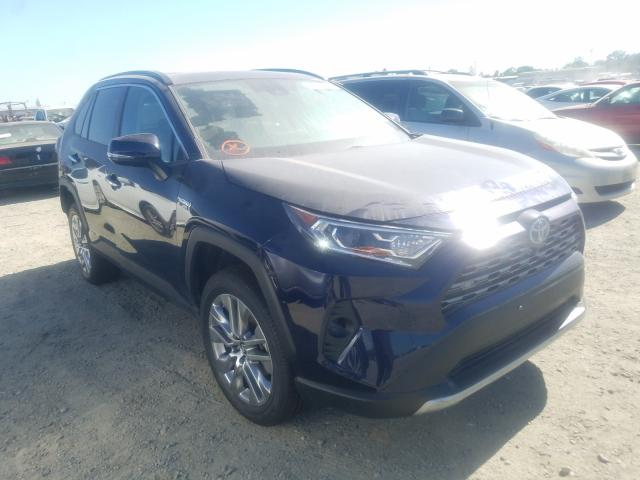 Salvage cars for sale from Copart Antelope, CA: 2019 Toyota Rav4 Limited