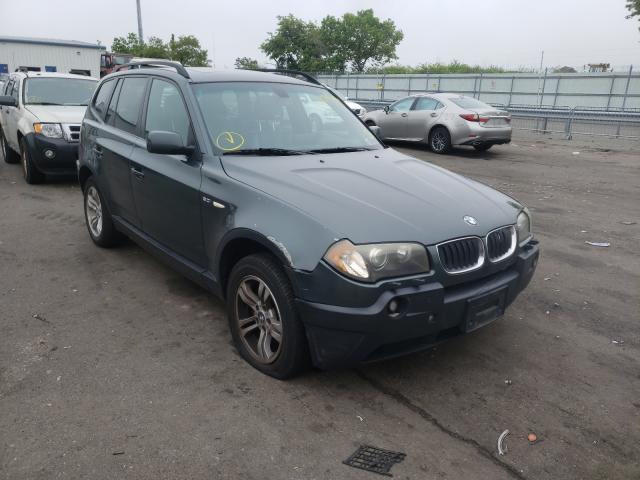 BMW X3 salvage cars for sale: 2005 BMW X3