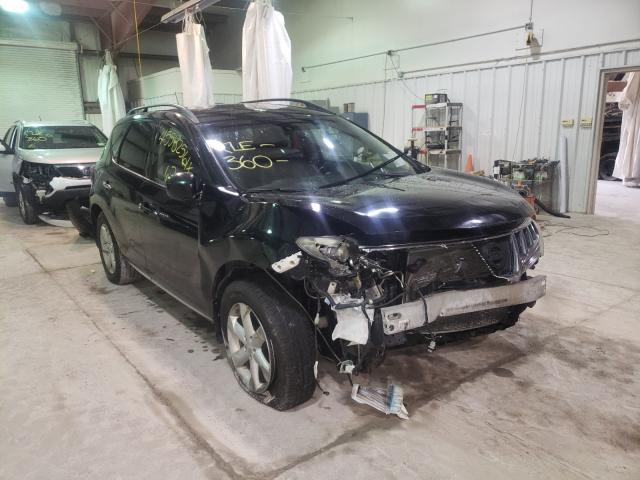 Salvage cars for sale from Copart Leroy, NY: 2009 Nissan Murano S