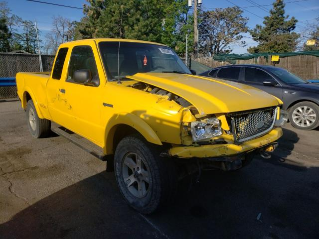 Salvage cars for sale from Copart Denver, CO: 2002 Ford Ranger SUP