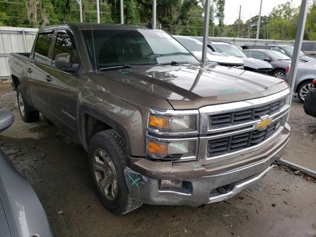 Salvage cars for sale from Copart Savannah, GA: 2015 Chevrolet Silverado