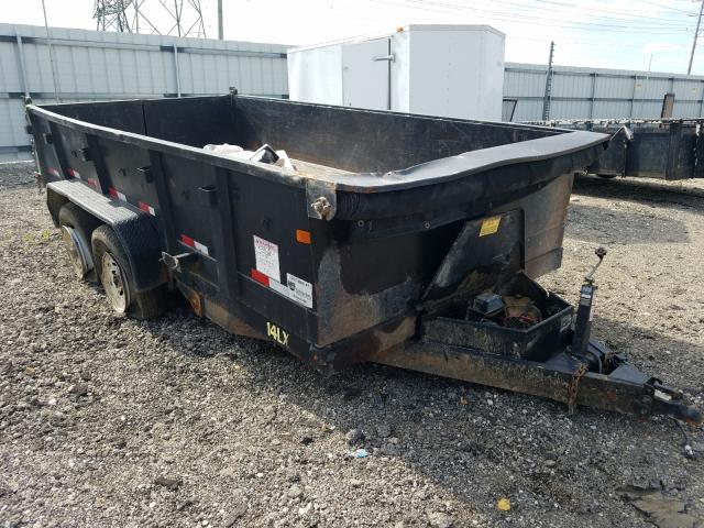 Big Tex salvage cars for sale: 2015 Big Tex Dump Trailer