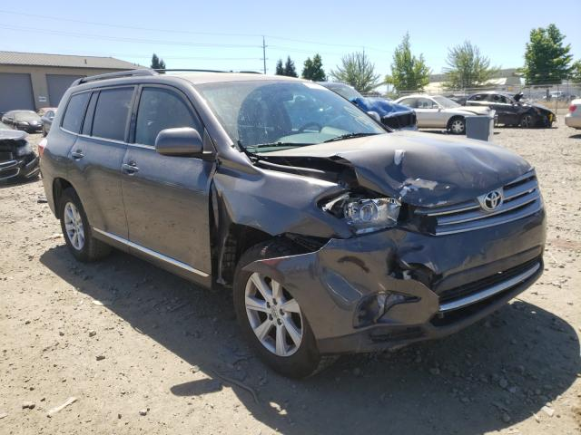 Salvage cars for sale from Copart Eugene, OR: 2013 Toyota Highlander
