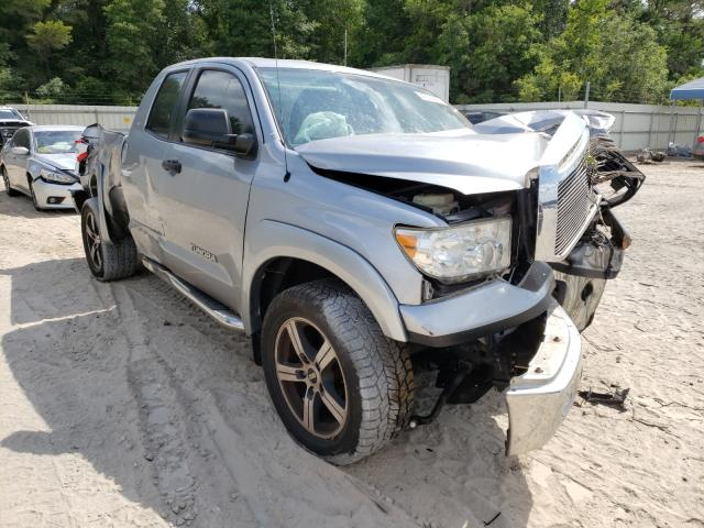 Salvage cars for sale from Copart Midway, FL: 2013 Toyota Tundra DOU