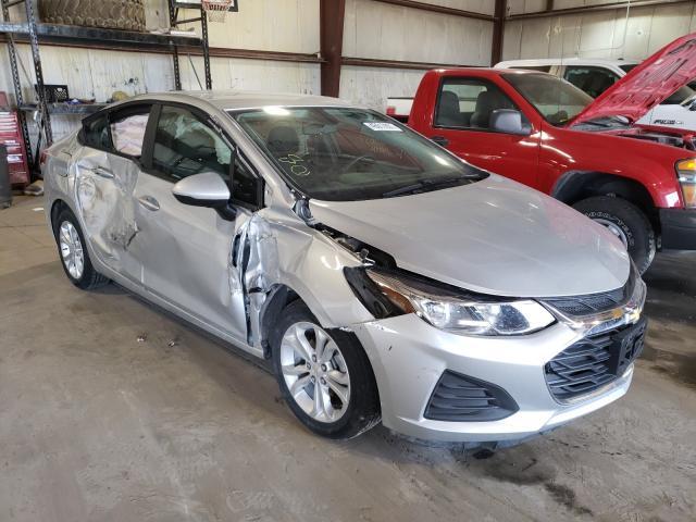 Salvage cars for sale from Copart Eldridge, IA: 2019 Chevrolet Cruze LS