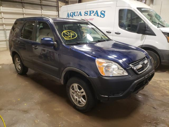 Salvage cars for sale from Copart Casper, WY: 2004 Honda CR-V EX